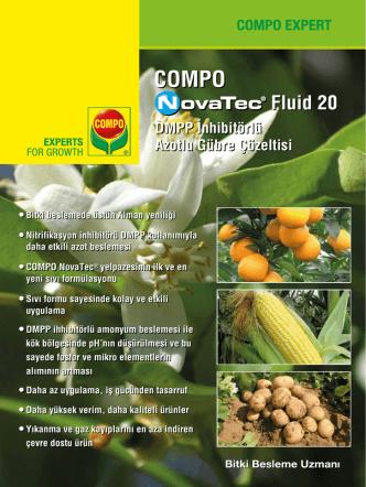 COMPO NovaTec Fluid 20 broşürümüzü