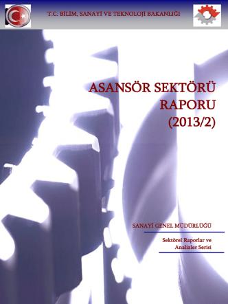 Asansör Sektör Raporu 2013-2