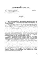 Nolu Genelge - Hâkimler ve Savcılar Yüksek Kurulu