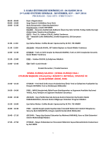 2.Kara Sistemleri Semineri Program