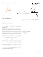 d:fine™ çok-yönlü kafa-tipi mikrofon Daha fazla bilgi için:
