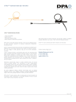d:fine™ kardioid kafa-tipi mikrofon Daha fazla bilgi için: