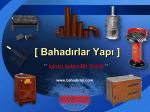 Fiyat Listesi - bahadirlar.com