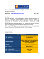 Lider Factoring Fiyat Tespit raporuna İlişkin analist raporu