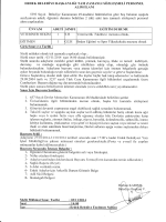 sözleşme ilanı - Erdek Belediyesi