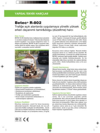 betec r-802