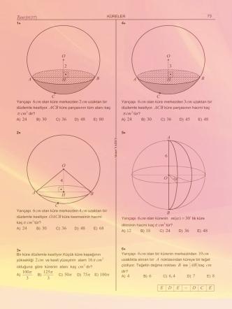 cm π cm π 16 cm π π π cm π ( ) 30 m α =  cm π E D E D C E