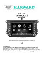 HR-VW02 OTO MÜZİK SETİ