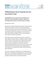 PFERD Şirketinin Zincirli Testereler İçin Yeni Zincir Bileme Cihazı