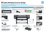 HP Latex 310 Yazıcı (1,37 m / 54 inç)