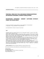 üreteral giriş kılıfı kullanılmadan gerçekleştirilen retrograd intrarenal