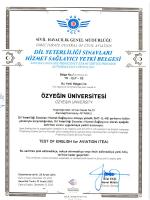 onay sertifikası için tıklayınız - Sivil Havacılık Genel Müdürlüğü