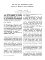 k˙ı¸s˙ıl˙ık ˙ızlen˙ımler˙ın˙ın sürekl˙ı kest˙ır˙ım˙ı contınuous predıctıon