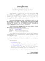 tc istanbul bilim üniversitesi uzaktan öğretim duyurusu