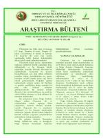 Doğu Akdeniz Bölgesi Kekiklerinin (Origanum sp.)