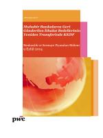 9 Eylül 2014 - Bankacılık ve Sermaye Piyasaları Bülteni