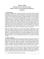 SU0302 - Havza Su Yönetiminde Bütünleşik Modelleme