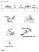 Yanmar 4TNE94-98 Silindir Kapak Revizyon Ölçüleri