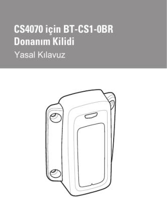 BT-CS1-0BR Dongle for CS4070 Regulatory Guide, P/N