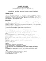 Üflemeli ve Vurmalı Çalgılar - Hacettepe Üniversitesi Güzel Sanatlar