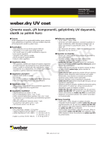 weber.dry UV coat.fh11