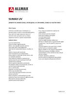 SUMAX UV - Allmax Yapı Kimyasalları