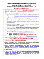 buradan - Çukurova Üniversitesi | Uzaktan Eğitim Sistemi e-MBA