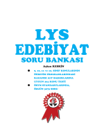 LYS EDEBYT S.B - Zafer Yayınları