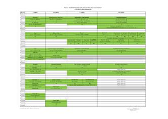 2014 - 2015 Guz Yarıyılı Ders Programı II. Öğretim