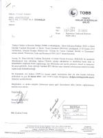 Ek - Ankara Ticaret Borsası
