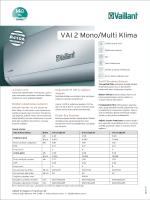 Mono Split Klima VAI2