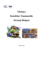 Türkiye Kombine Taşımacılık Strateji Belgesi