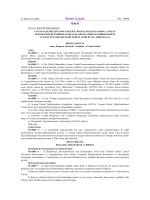 yayınlanan resmi razete - Çevre ve Şehircilik Bakanlığı