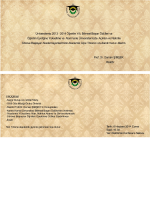 Üniversitemiz 2013 - 2014 Öğretim Yılı, Bilimsel Başarı Ödülleri ve