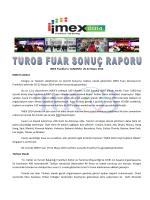 IMEX Frankfurt / ALMANYA 20-22 Mayıs 2014 IMEX Frankfurt