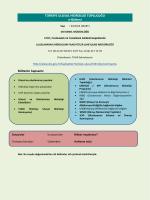 Mart 2014 Hidroloji Bülteni - Devlet Su İşleri Genel Müdürlüğü