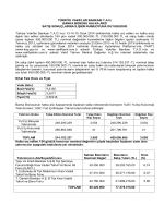 VakıfBank Banka Bonosu Satış Sonuçları ve Nihai Faiz Oranı İlanı.