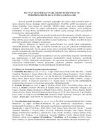 Bilgi Notu, Katılımcı Listesi ve Toplantı Gündemi