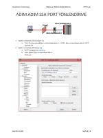 SSH Tunnel işlemi dokümanı - BBM473 - VTYS LAB