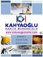 TANITIM DOSYASI - kahyaoğlu harita