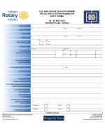 2440. Bölge BES ve Eğitim Asamblesi Müracaat Formu