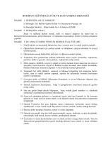 ilim kültür ve sosyal yardımlaşma derneği - Burhan-Der