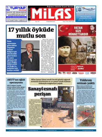 19.09.2014 cuma  - Milas Medya Arşivi