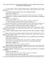 2911 Sayılı Toplantı ve Gösteri Yürüyüşleri Kanununa Göre