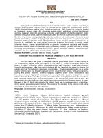 Tam Metin (PDF) - Avrasya Uluslararası Araştırmalar Dergisi