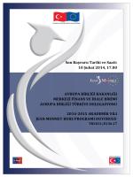 Duyuru metni 2014-2015 - Avrupa Birliği Bakanlığı