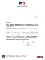 AMBAssADE DE FRANCE EN TURQUIE - UCLG-MEWA