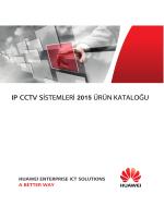 Huawei IP CCTV Ürün Kataloğu