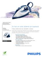 GC9224/20 Philips Akıllı Çip teknolojili basınçlı buhar kazanlı ütü