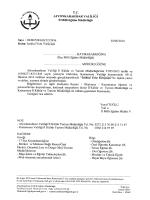 Müdürlüğümüzün konu ile ilgili 02/06/2014 tarih ve 2215936 sayılı